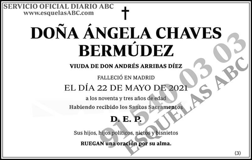 Ángela Chaves Bermúdez