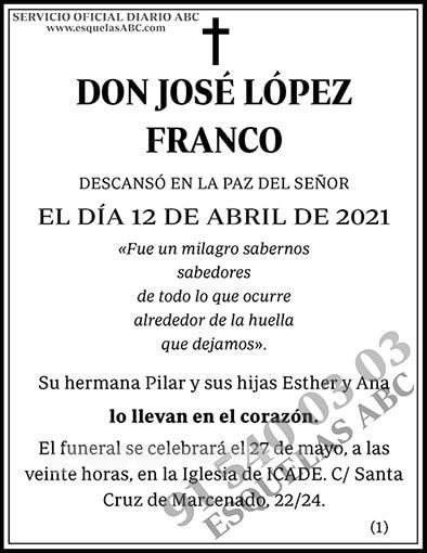 José López Franco