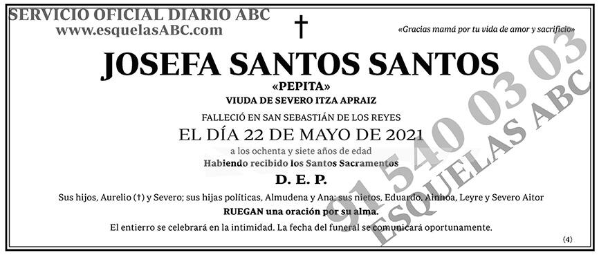 Josefa Santos Santos