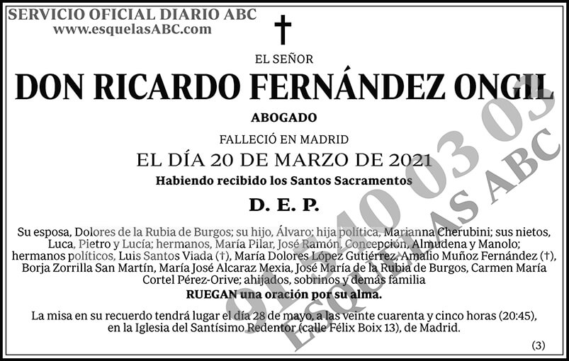 Ricardo Fernández Ongil