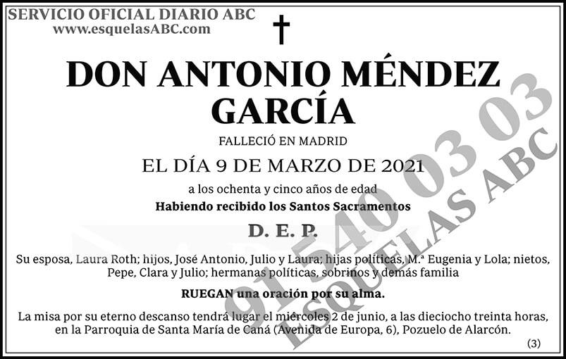 Antonio Méndez García