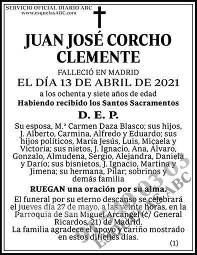 Juan José Corcho Clemente