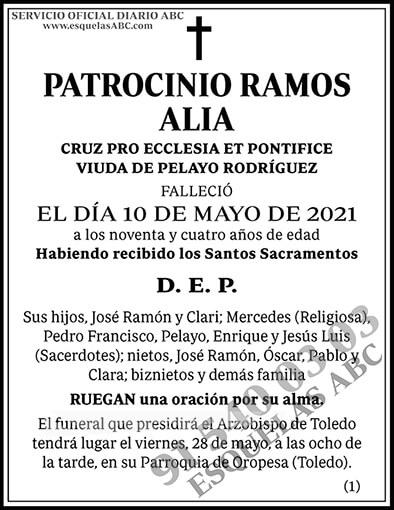 Patrocinio Ramos Alia