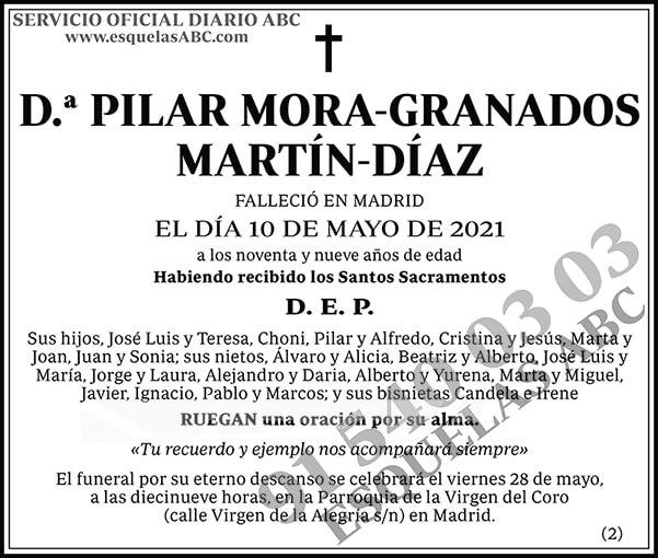 Pilar Mora-Granados Martín-Díaz