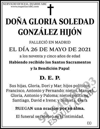 Gloria Soledad González Hijón