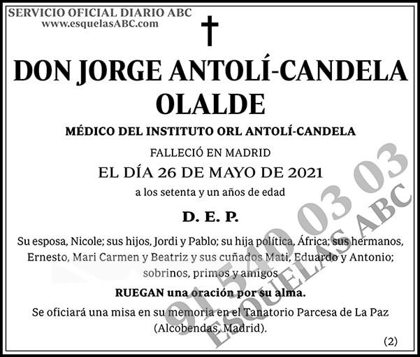 Jorge Antolí-Candela Oralde