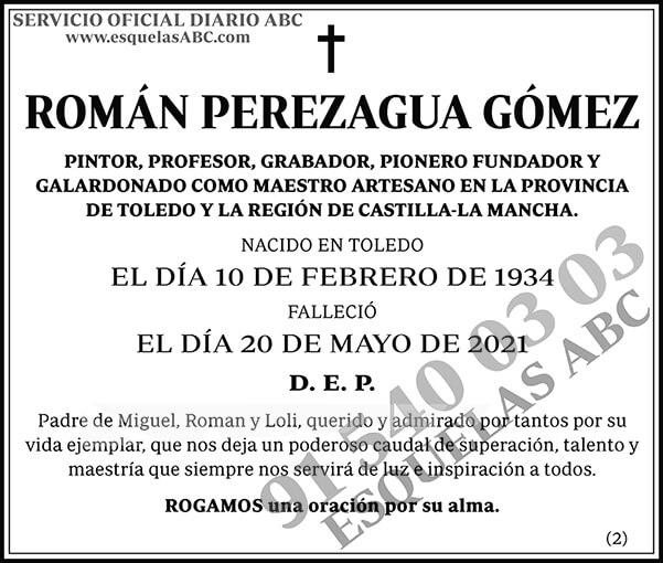 Román Perezagua Gómez