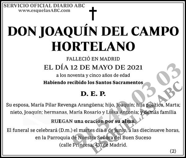 Joaquín del Campo Hortelano