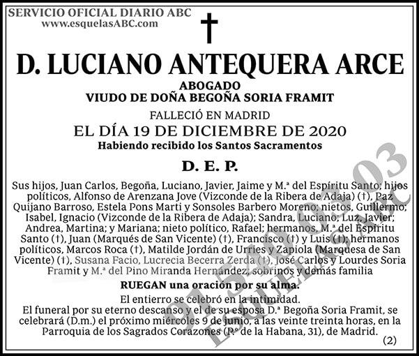 Luciano Antequera Arce