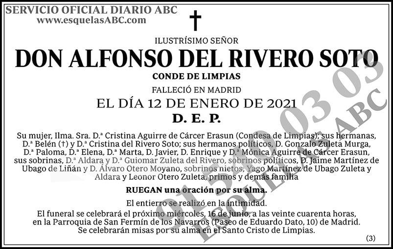 Alfonso del Rivero Soto