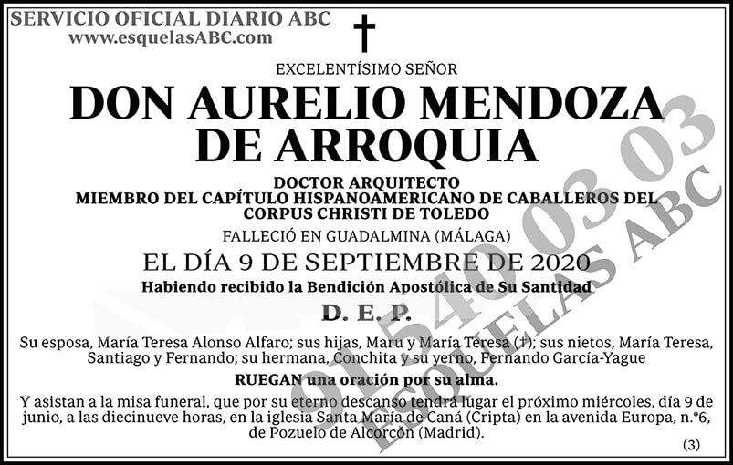 Aurelio Mendoza de Arroquia