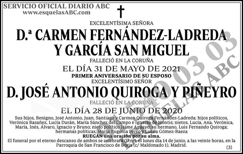 Carmen Fernández-Ladreda y García San Miguel