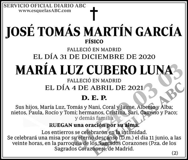 José Tomás Martín García