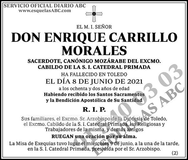 Enrique Carrillo Morales