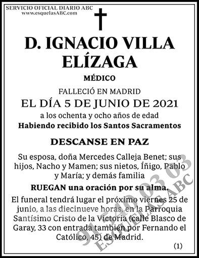 Ignacio Villa Elízaga
