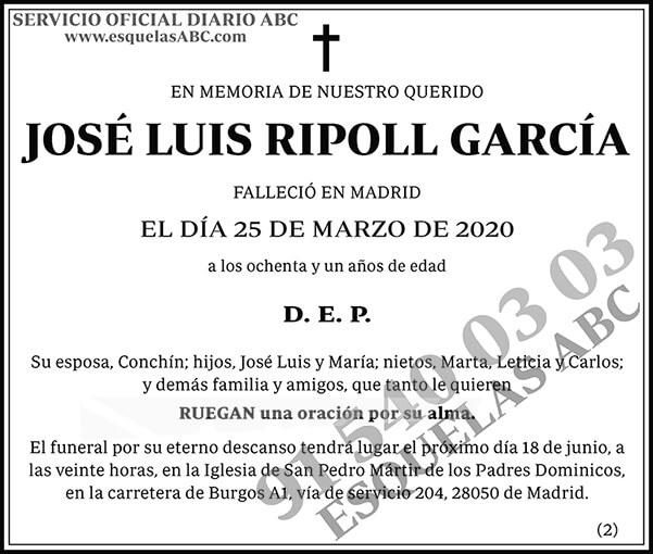 José Luis Ripoll García