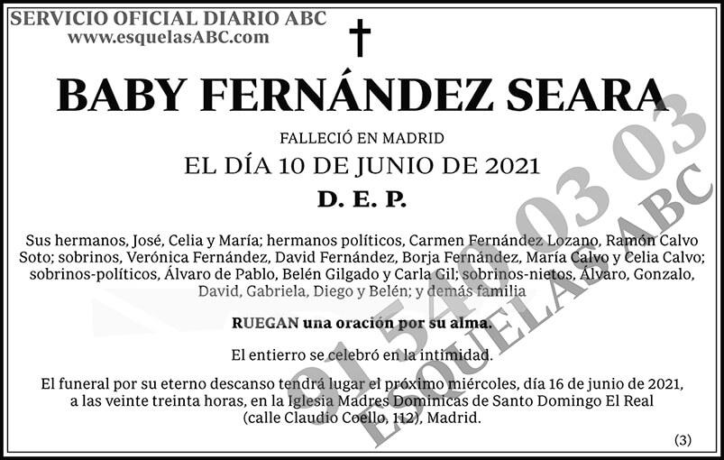 Baby Fernández Seara