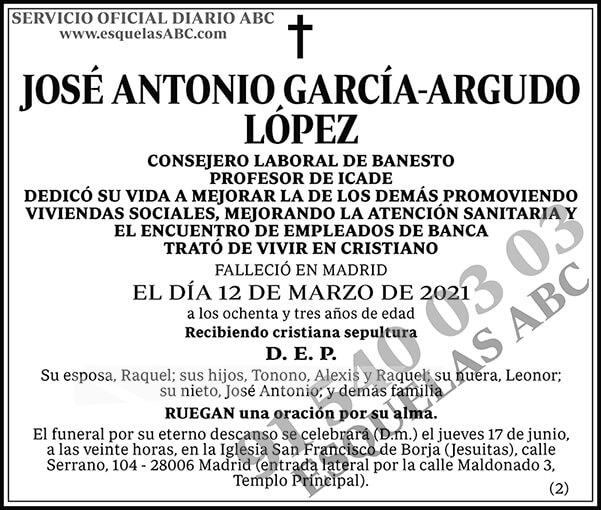 José Antonio García-Argudo López