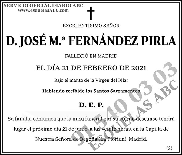 José M.ª Fernández Pirla