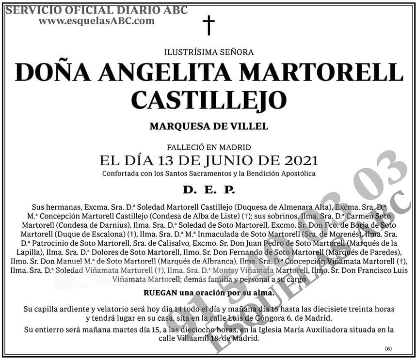 Angelita Martorell Castillejo
