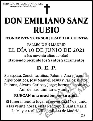 Emiliano Sanz Rubio