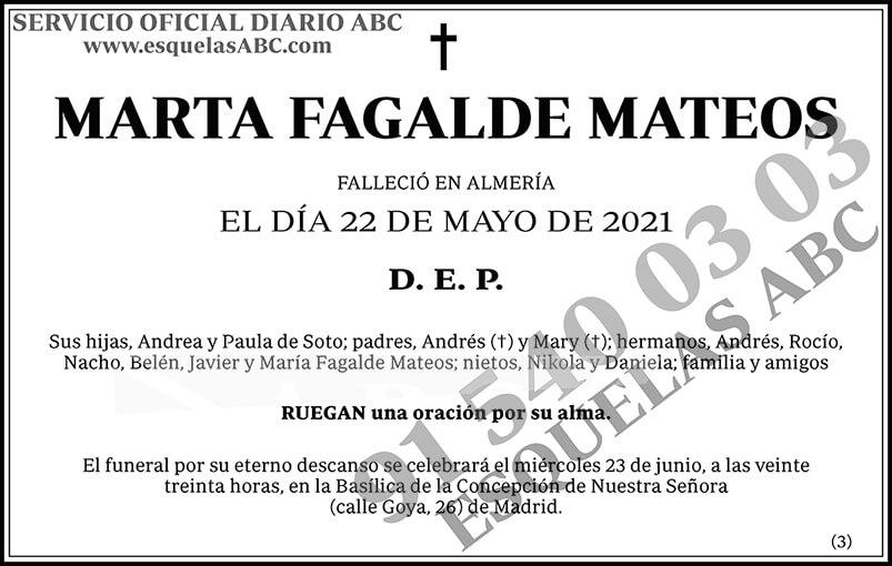 Marta Fagalde Mateos