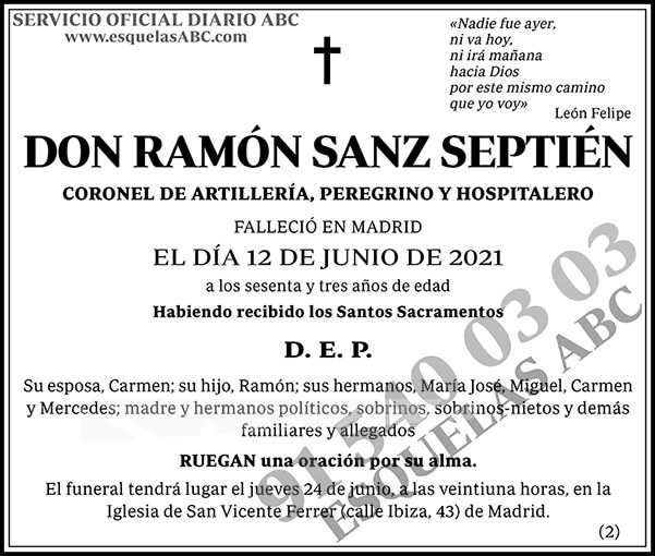 Ramón Sanz Septién