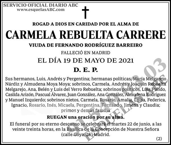 Carmela Rebuelta Carrere