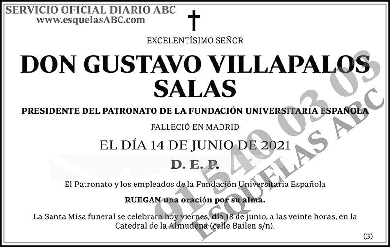Gustavo Villapalos Salas