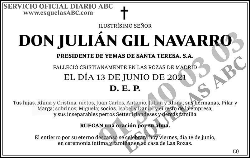 Julián Gil Navarro