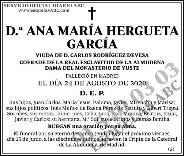 Ana María Hergueta García
