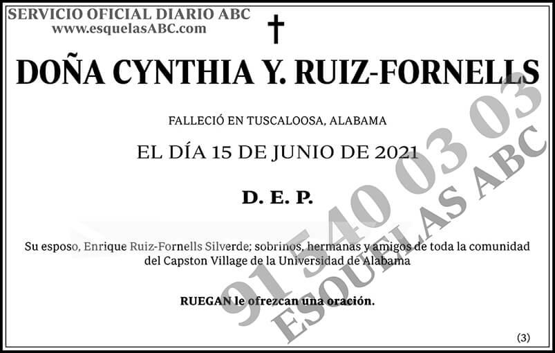 Cynthia y Ruiz-Fornells