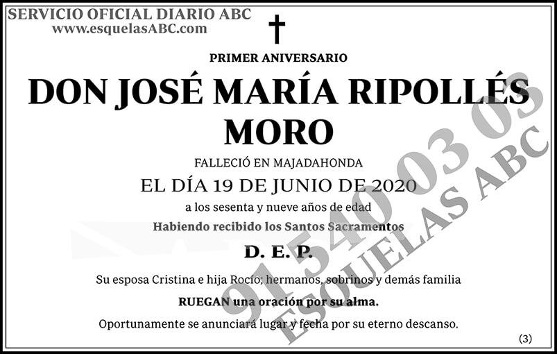 José María Ripollés Moro
