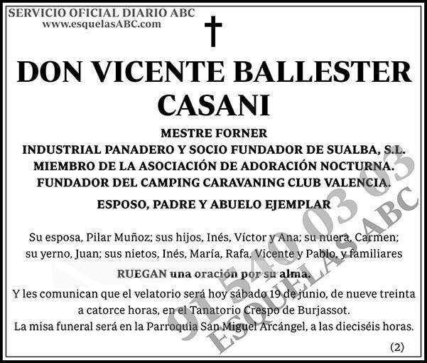 Vicente Ballester Casani