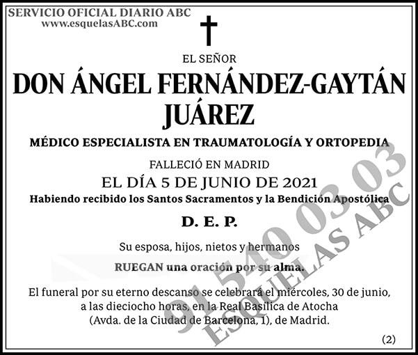 Ángel Fernández-Gaytán Juárez