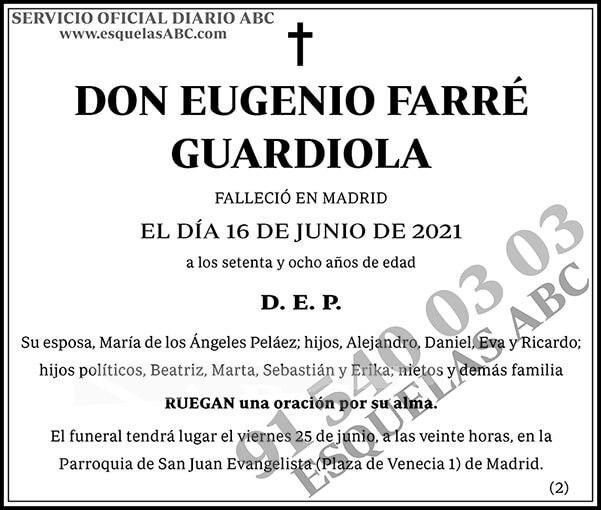 Eugenio Farré Guardiola