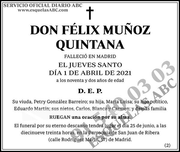 Félix Muñoz Quintana