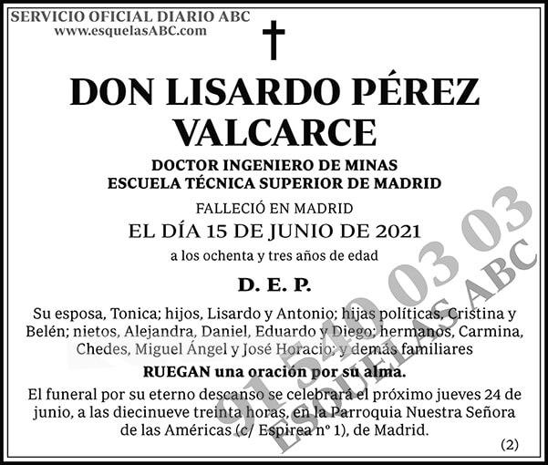 Lisardo Pérez Valcarce