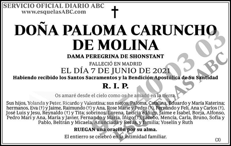 Paloma Caruncho de Molina