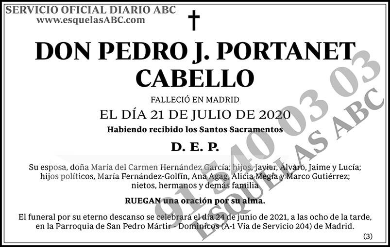 Pedro J. Portanet Cabello