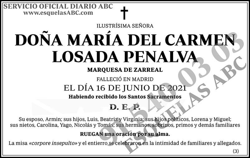 María del Carmen Losada Penalva