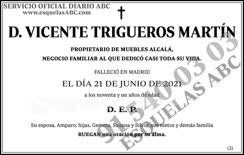 Vicente Trigueros Martín