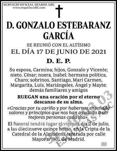 Gonzalo Estebaranz García