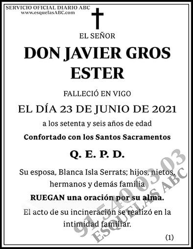 Javier Gros Ester