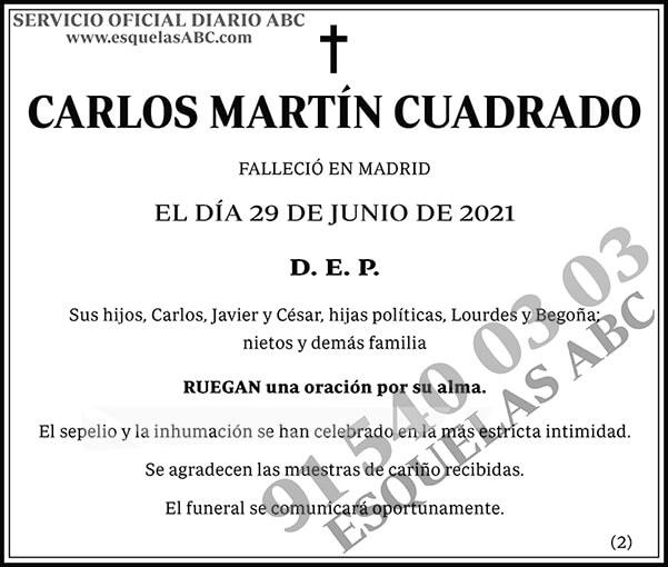 Carlos Martín Cuadrado
