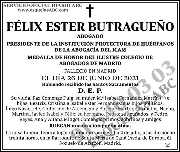 Félix Ester Butragueño