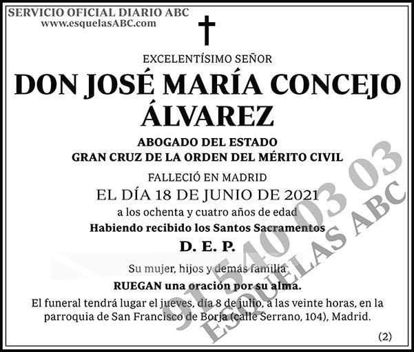 José María Concejo Álvarez