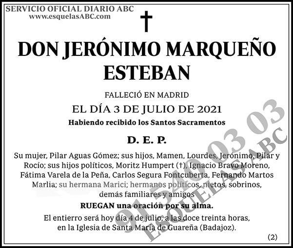 Jerónimo Marqueño Esteban