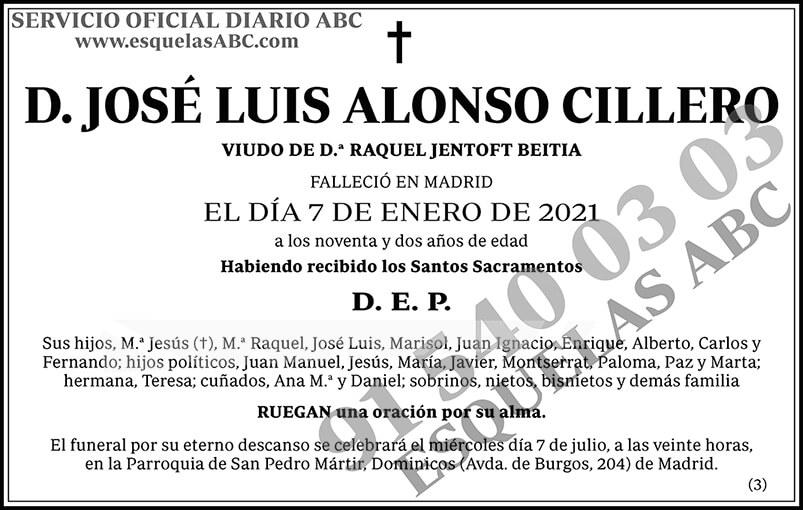 José Luis Alonso Cillero