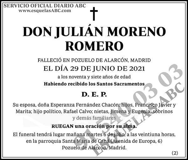 Julián Moreno Romero
